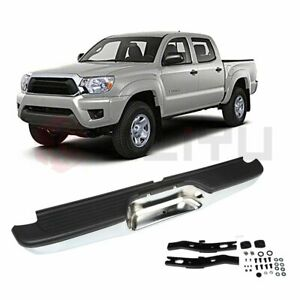 New To1102215 Rear Step Bumper Face Bar Assembly For Toyota Tacoma 1995 2004