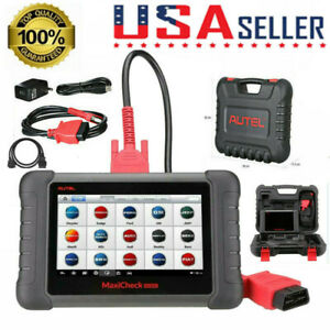 Autel Maxicheck Mx808 All Systems Obd2 Diagnostic Scanner Usa Version Mk808