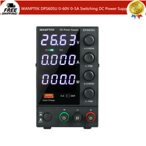 Wanptek Dps605u Adjustable Digital Regulated Dc Power Supply 60v 5a 300w W3y7