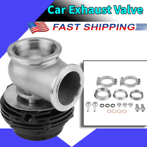 38mm Exhaust Wastegate External Turbo For Tial Mvs With V Band Flanges