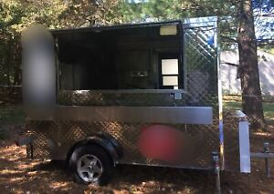 2013 8 X 10 Cart Concepts Stainless Steel Food Concession Trailer For Sale I