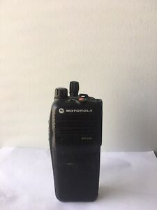 Motorola Mototrbo Xpr6380 Radio 800 900 Mhz Aah55ucc9lb1an And Battery