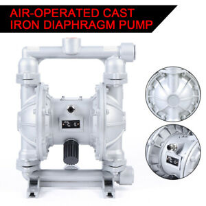 Air operated Double Diaphragm Pump 24 Gpm 1 In Inlet Outlet Qbk 25l Water Top