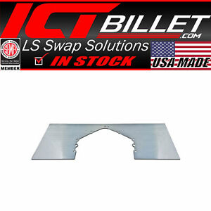 Mid Plate Solid Aluminum Mount Sbc Bbc Ls Lt Chevy Motor Engine