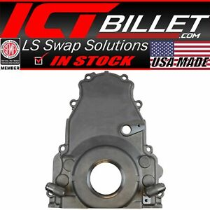 Ls Gen 4 Twin Turbo Oil Drain Return Front Timing Chain Cover 10an