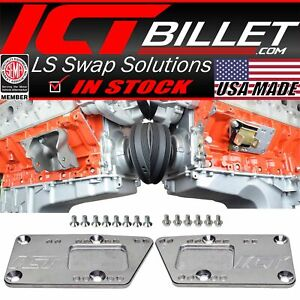 Engine Swap Bracket Sbc Ls Conversion Motor Mount Adjustable Plate Ls1 Ls3 Lq4