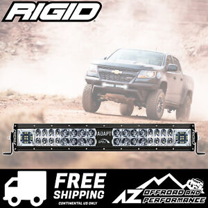 Rigid Industries Adapt E series 20 Led Light Bar Gps Speed Beam Patterns 260413