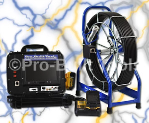 125 Pb2000 Battery Powered Sewer Drain Inspection Camera System