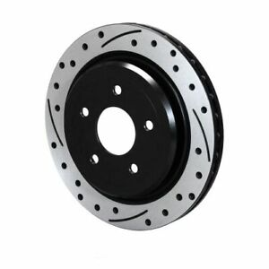 Wilwood 160 14040 bk Srp Drilled Performance Rotor Hat Right Hand 12 01 Dia