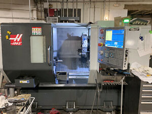 Haas St 20y Cnc Lathe 2016 With 4 Live Tools Tailstock 8 Chuck And More