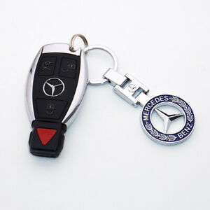 3d For Mercedes Benz Amg Sport Logo Alloy Car Home Keychain Ring Decoration Gift