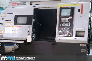 Mazak Quick Turn Nexus 250 M Cnc Turning Center 2005 With Live Milling 2