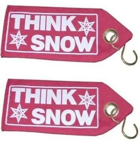 New Pair think Snow Snow Plow Blade Guide Flags Only