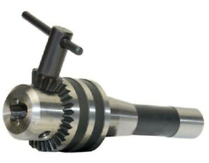 Geared Drill Chuck W R8 Shank Arbor Mill 3 16 To 3 4 Capacity Large Dc34r8a