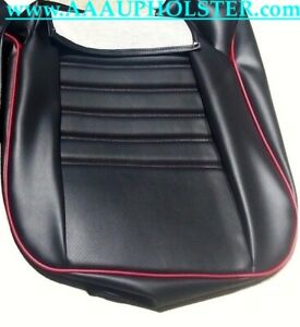 Red Welt Porsche 911 944 951 964 968 Standard Seat For Cushion Upholstery 85 94