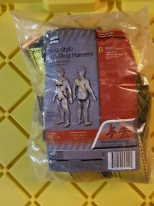 Safety Works Vest style 3 D ring Harness New
