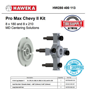 Pro Max Chevy Ii Kit 8 X 180 8 X 210 Md Centering Solutions