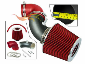 Bcp Rw Red For 06 08 Honda Fit Jazz 1 5l L4 Air Intake Kit System Filter