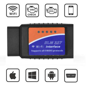 Mini Elm327 Obd2 Ii Bluetooth Wifi Auto Car Diagnostic Interface Scanner Tool