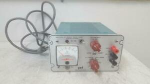 Power Designs 5005s Regulated Dc Source Power Supply