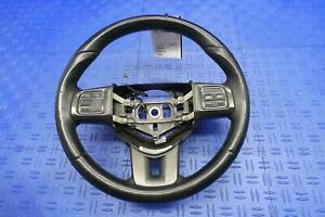 2013 2016 Dodge Dart Oem Front Driver Steering Wheel W Leather W Bluetooth