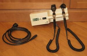Welch Allyn 767 Wall Mount 3 5v 25020 Otoscope 11710 Ophthalmoscope Set Clock