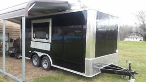 Barely Used 2020 Cynergy Advanced Ccl 8 5 X 16 Mobile Food Concession Trailer