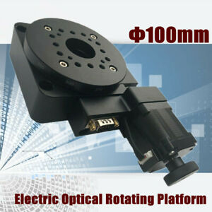 Electric Rotating Platform Motorized Precision Rotray Stage Table Diameter 100mm