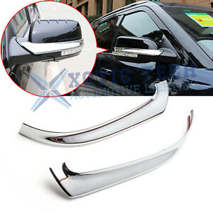 For Ford Explorer 2011 2019 Abs Chrome Side Rearview Mirror Strip Cover Trims