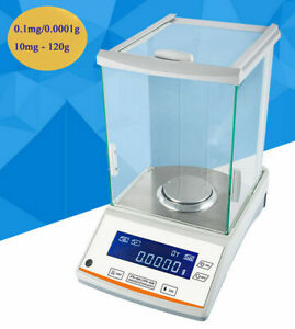 New Analytical Balance 0 1 Mg 120 X 0 0001g Lab Digital Precision Scale In Usa