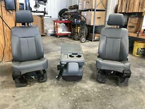 Ford F250 F350 Super Duty Front Seat Center Jump Driver Pass 11 12 13 14 15 16