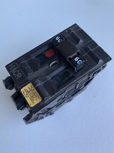 Wadsworth 60 Amp Double Pole 2 Pole 2p 60a Circuit Breaker Tested Plastic Feet