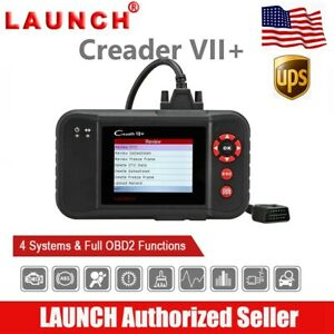 Launch X431 Vii Obd2 Scanner Abs Srs Engine Auto Diagnostic Tool Code Reader