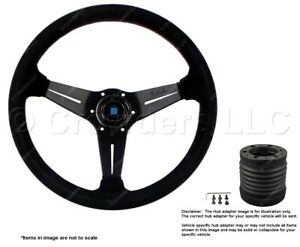 Nardi Deep Corn 350mm Steering Wheel Momo Hub For Porsche 6069 35 2094 C231