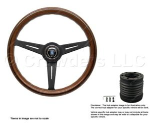 Nardi Classic 360mm Steering Wheel Momo Hub For Mercedes 5062 36 2000 6001