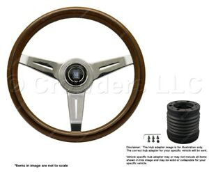 Nardi Classic 340mm Steering Wheel Momo Hub For Porsche 5061 34 3000 7004