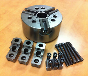 Howa 3 jaw Power Chuck Hh037m8 8 210 Mm With Hardware