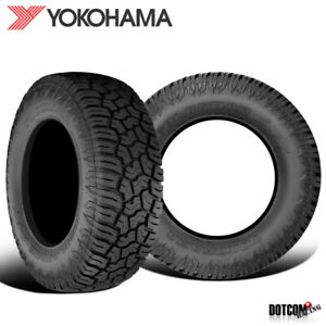 2 X New Yokohama Geolander X at 35x12 50r17 121q E Tires