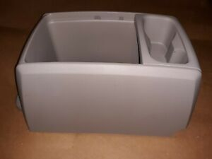 9ww54 Center Front Console From 2008 17 Chrysler Mini van Light Gray Very Good