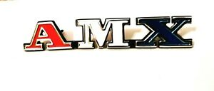 1971 American Motor amx Front Grill Emblem Newly Poured Quality Metal