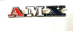 1972 Amc Javelin amx Front Grill Emblem Newly Poured Quality Metal
