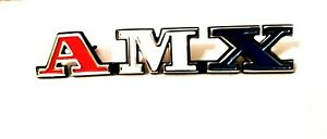 1973 Amc Javelin amx Front Grill Emblem Newly Poured Quality Metal