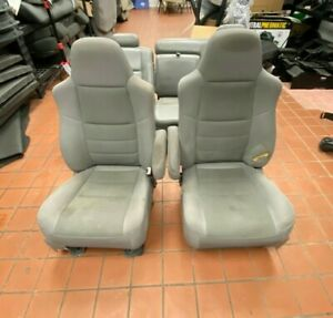 2005 Ford Excursion Seats Trim Code Fe Leather And Cloth