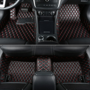 For Buick Excelle 2018 Car Waterproof Leather Floor Mat Trunk