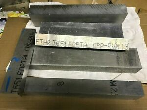 Fortal Aluminum Scrap Box 35 Pounds Of Project Material 7075 T651 Longer Plate