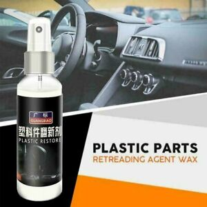 Car Plastic Parts Retreading Restore Agent Wax Instrument Wax Reducing Agent