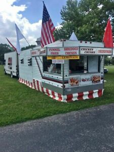 Turnkey Business 2006 Food Concession Trailer And Ford Truck Combo Both For Sale