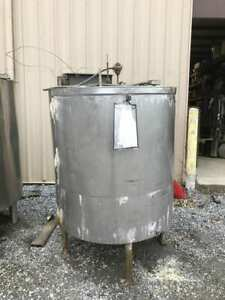 300 Gallon Stainless Steel Insulated Process batch Mixing Tank