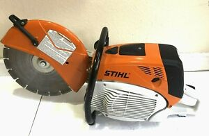 Stihl Ts 700 Concrete Saw With One 14 Inch Blade And Water Kit