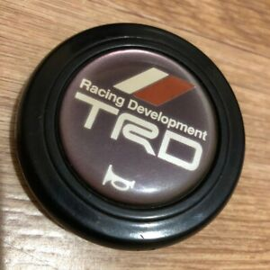 Trd Horn Button Toyota Ae86 Mr2 Celica Starlet Supra Jaa Chaser Jzx Jzz30 Soarer
